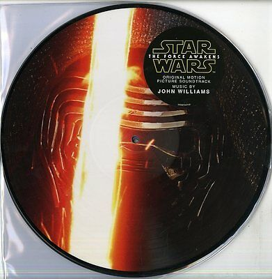Star Wars The Force Awakens J Williams Colonna Sonora 2  Lp Picturvinile   Nuovo