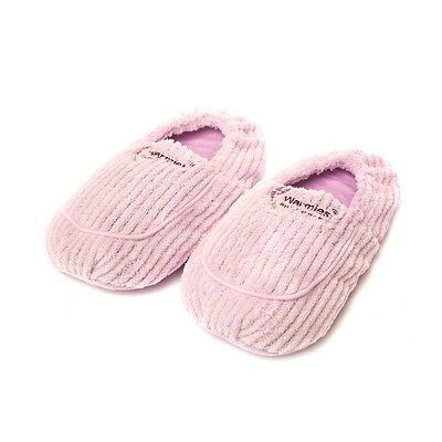 Warmies Wheat Lavender Scented Fleece Lilac Spa Therapy Microwavable Slippers