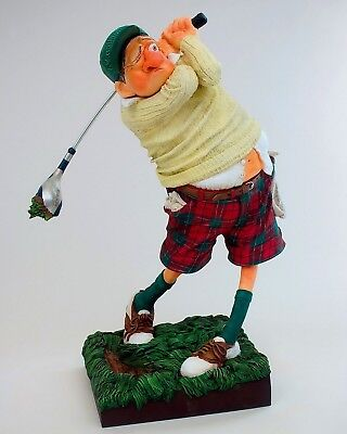 "GUILLERMO FORCHINO COMIC ART Skulptur - Professionals ""THE GOLFER"" Figur FO85504"