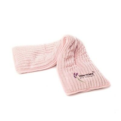 Warmies Lavender Scented Soft Fleece Pink Spa Therapy Microwavable Neck Wrap