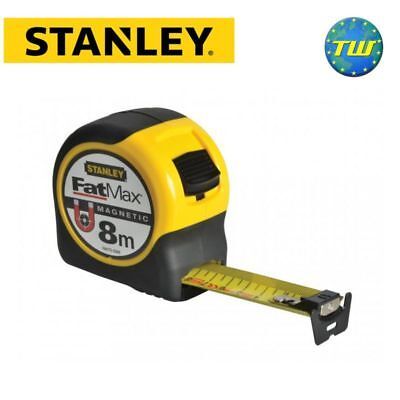 Stanley FatMax Blade Armor Magnetic Tape Measure 8m 26ft FMHT0-33868 STA033868