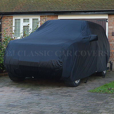 Luxury Satin with Fleece Lining Indoor Car Cover for Land Rover Discovery 3