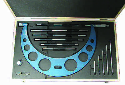 "6 - 12"" Interchangeable Anvil Outside Micrometer"