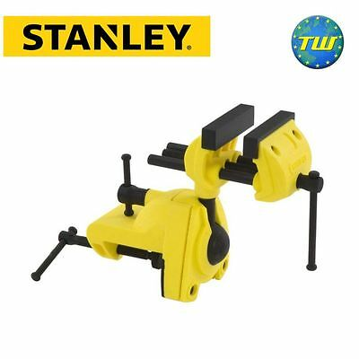 Stanley Multi Angle Swivel Hobby Craft Bench Wood Vice DIY 1-83-069 STA183069
