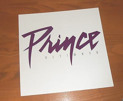 Prince Ultimate Poster 2-Sided Flat Square 2006  Promo 12x12