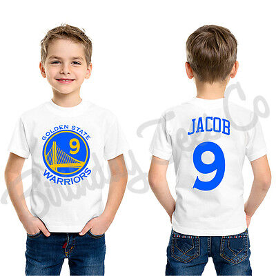 Golden State Warriors Shirt Stephen Curry Jersey Custom Name & Age Personalized