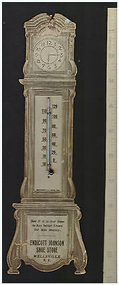 xRARE Advertising Thermometer - Endicott Johnson Shoes Wellsville NY 1921