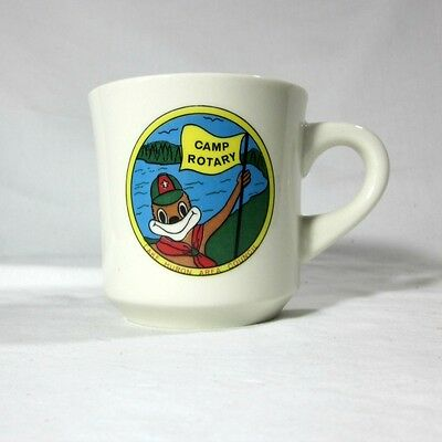 Boy Scouts Camp Rotary Lake Huron Area Council Michigan Scouting Ceramic Mug