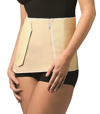 FIRM Post Pregnancy Liposyction SOLID Abdominal Hernia Support Belt Girdle Waist