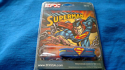 EFX Bracelet Wristband / Golf /Bowling/Sports/Authentic!! SUPERMAN  6""