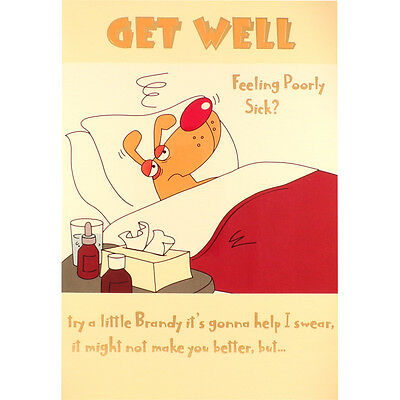 Get well card feeling poorly sick funny humorous rude greetings get well card feeling poorly sick funny humorous rude greetings card m4hsunfo