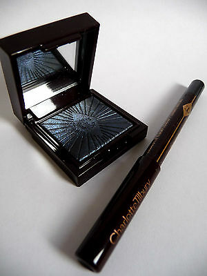 CHARLOTTE TILBURY Nocturnal Cat Eyes*Midnight Seduction+Sapphire Sex Eye Liner