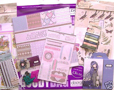 Docraft's Überraschungstüte Karte & Scrapbooking March 2015 Natures Gallerie,