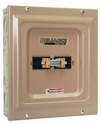 Reliance Controls TCA0606D  Utility Generator TCA Indoor Panel, 60-Amp, New, Fre