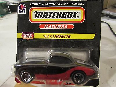 Matchbox Madness '62 Corvette from Taco Bell