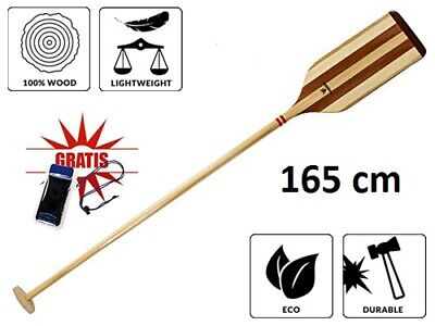 Wooden Pine Mahogany Canoe Paddle 165 cm Canadian Dragon Boat Individual Cutting