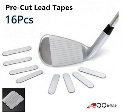 16pcs A99 Weighted Lead Tape Add Power/Weight on Golf Tennis Racket Iron Putter