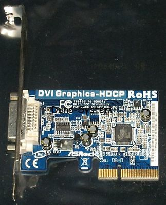ASROCK DVI Graphics-HDCP RoHS PCI Express x1 Slot TOP