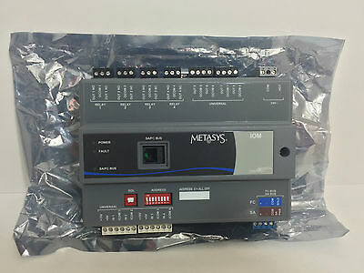 New! Johnson Controls Metasys Input / Output Module Ms-Iom3710-0