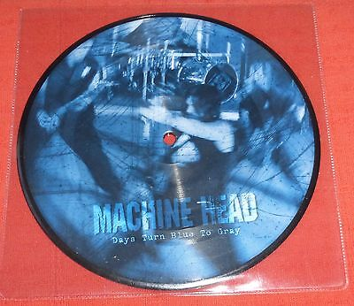 "Machine Head - 7"" Picture Disc Single - Days Turn Blue To Gray"