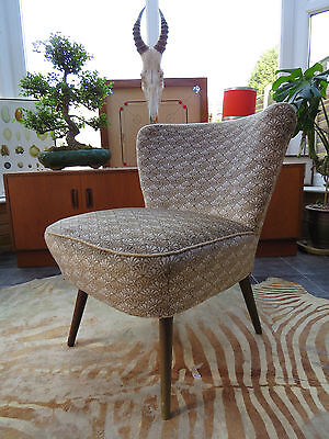 A Vintage East German Bartholomew Cocktail Chair C1965 Good Condition A16/49