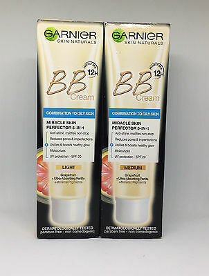 BEST BB Cream Miracle Skin Perfector SPF20 for Combination to Oily Skin GARNIER