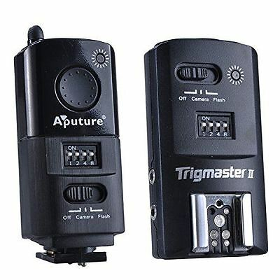 Aputure 2.4G Wireless Flash Trigger Trigmaster II MXII-N for Nikon DSLR Camera