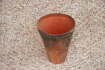Gold prospecting assay Copper cup