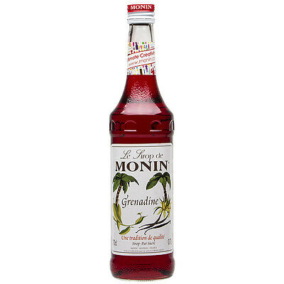 NEW Monin Grenadine Syrup 700ml
