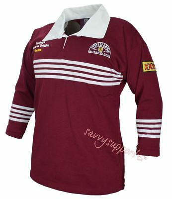 Queensland Maroons State of Origin 1991 Classic Retro Heritage Jersey S-5XL QLD