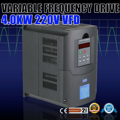 Variable Speed Drive Vsd Vfd 4Kw 240V 10A 1 Or 3 Phase In 3 Phase Out