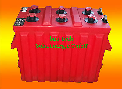 Rolls Bleibatterie 12 Volts 357amper, 3200 Cycles avec 50% Entladung, Deep Cycle