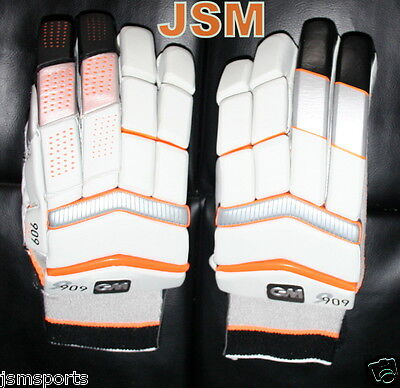 New 2016 GM 909 D3O Cricket Batting Gloves RH PLAYERS/TEST GRADE! Right Handed