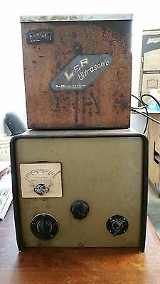 Vintage L&R Ultrasonic Cleaner with a timer tank Dental Lab Jewelry
