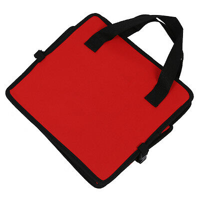 Red 2 in 1 Car Boot Organiser Shopping Tidy Heavy Duty Foldable FP7