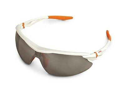 Stihl White Sport Sun & Safety Glasses with Silver Mirror Lens 7010 884 0368