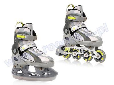 Inline skates Ice Skates 2in1 Meteor Falcon 2016 Brand New Fast GLS shipping