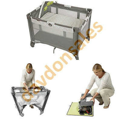 Baby Play Pen Yard Playpen Playard Pack Indoor Outdoor Safety Portable Travel