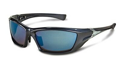Stihl Blue Frame Sun & Safety Glasses with Blue Mirror Lens 7010 884 0384