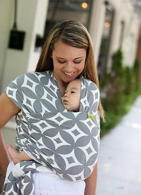 BOBA Baby Wrap Baby Carrier Prem Early Baby - Birth to 18mths (35lbs) STARDUST