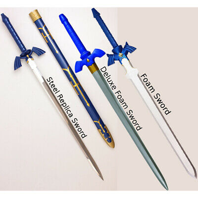 The Legend of Zelda Master Sword (Choose Your Style) Link Cosplay Nintendo