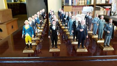 Miniature Presidents Statue 1St To 36Th Marx Toys
