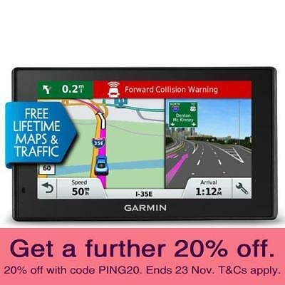 Garmin DriveAssist 50LMT GPS Navigator Crash Camera with AUST GARMIN WARRANTY