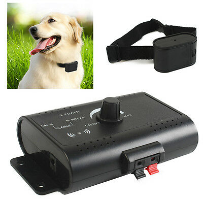 Waterproof Electronic Dog Hidden Fence System In-ground Electric Collar Receiver