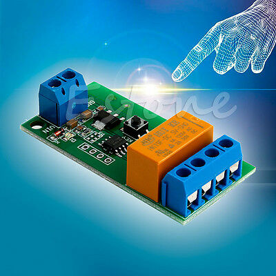 Motor Reverse Polarity Cyclic Timer Switch Time Repeater Delay Relay DC 5V~12V