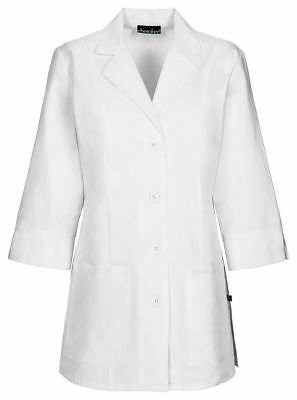 "Cherokee Women's New Side Vents 3/4 Sleeve Patch Pockets 30"" Lab Coat. 1470AB"