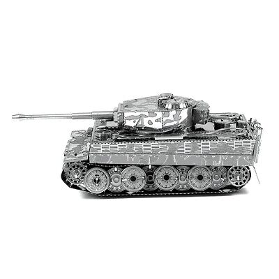 Metal Earth Tiger I Tank 3D Laser Cut Metal DIY Model Hobby Military Build Kit