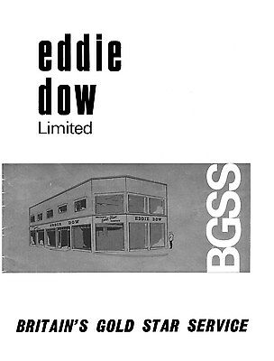 Eddie Dow Gold Star catalogue