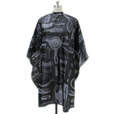 Salon Equipment Adult Barbers Hairdresser Hair Cutting Cape Gown Clothes