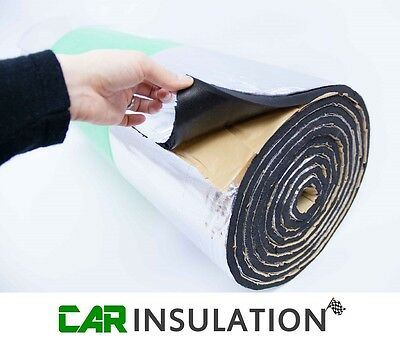 3 x 1m GlassMAT™ Closed Cell Foam Insulation Sound Proofing Boat Car Van Thermal